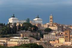 Monumento nazionale al della Patria, Roma, Italia di Victor Emmanuel II Altare Fotografia Stock Libera da Diritti