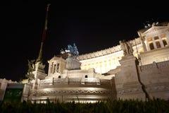 Monumento nazionale al vincitore Emmanuel II, Roma Fotografie Stock