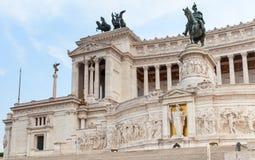Monumento nazionale al vincitore Emmanuel II, Roma Immagine Stock