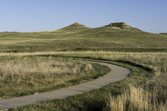 Monumento nazionale dei letti fossili dell'agata Fotografia Stock Libera da Diritti