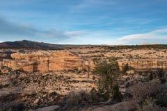 Monumento nazionale dei ponti naturali nell'Utah Fotografia Stock