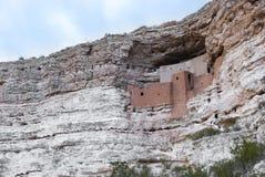 Monumento nazionale del castello di Montezuma Immagini Stock