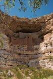 Monumento nazionale del castello di Montezuma Fotografie Stock Libere da Diritti