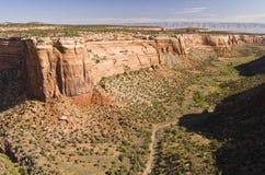 Monumento nazionale del Colorado immagine stock