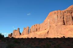 Monumento nazionale del Colorado Fotografia Stock