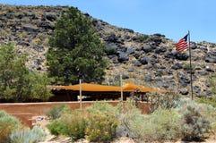 Monumento nazionale del petroglifo di Albuquerque Immagini Stock