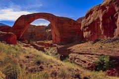Monumento nazionale del ponte dell'arcobaleno, Utah Immagini Stock Libere da Diritti