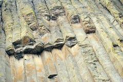 Monumento nazionale della torretta dei diavoli, Wyoming Fotografia Stock