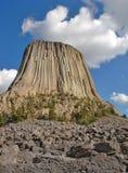 Monumento nazionale della torretta del diavolo Fotografia Stock