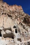 Monumento nazionale di Bandelier, New Mexico Fotografia Stock