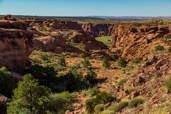 Monumento nazionale di Canyon De Chelly Immagine Stock