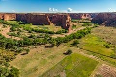 Monumento nazionale di Canyon De Chelly Fotografie Stock Libere da Diritti