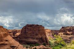 Monumento nazionale di Canyon De Chelly Fotografie Stock
