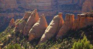 Monumento nazionale di Colorado   Fotografia Stock