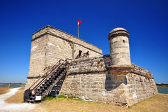 Monumento nazionale di Matanzas della fortificazione Fotografia Stock Libera da Diritti