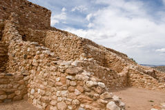 Monumento nazionale di Tuzigoot Fotografia Stock Libera da Diritti