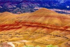 Monumento nazionale dipinto delle colline Immagine Stock