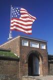 Monumento nazionale forte di McHenry a Baltimora, MD fotografia stock libera da diritti