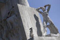 Monumento nazionale sulla diga Fotografie Stock