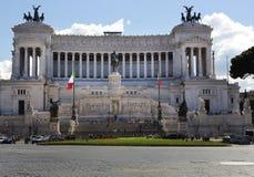 Monumento nazionale a Victor Emmanuel Immagini Stock Libere da Diritti