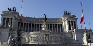 Monumento nazionale a Victor Emmanuel II Immagine Stock