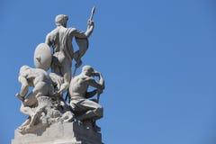 Monumento nazionale a Victor Emmanuel II Fotografie Stock