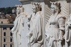 Monumento nazionale a Victor Emmanuel II Fotografia Stock