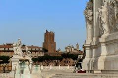 Monumento nazionale a Victor Emmanuel II (della Patria), p di Altare Fotografia Stock Libera da Diritti