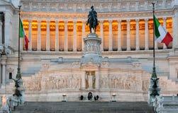 Monumento nazionale a Victor Emmanuel II (della Patria), p di Altare Fotografie Stock Libere da Diritti