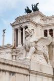 Monumento nazionale a Victor Emmanuel II a Roma Immagini Stock