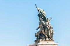 Monumento nazionale a Victor Emmanuel a Roma, Italia Immagini Stock Libere da Diritti