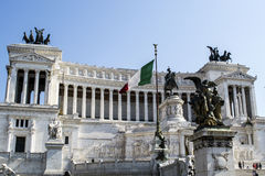 Monumento Nazionale Vittorio Emanuele II Immagine Stock Libera da Diritti