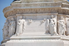 Monumento Nazionale Vittorio Emanuele II Immagine Stock