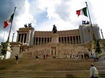 Monumento Nazionale a Vittorio Emanuele II Stock Photos