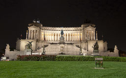 Monumento Nazionale a Vittorio Emanuele II Royalty Free Stock Images