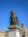 Monumento Nazionale a Vittorio Emanuele II Stock Photo