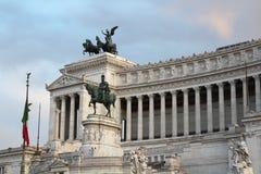 Monumento Nazionale Vittorio Emanuele II, Roma, Italia Immagine Stock Libera da Diritti