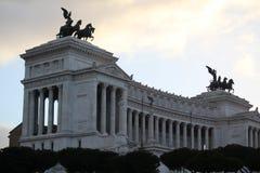 Monumento Nazionale Vittorio Emanuele II, Roma, Italia Fotografia Stock Libera da Diritti