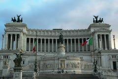 Monumento Nazionale Vittorio Emanuele II, Rome, Italie image stock