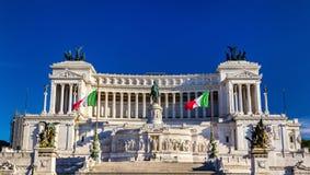 Monumento Nazionale a Vittorio Emanuele II in Rome Stock Photos