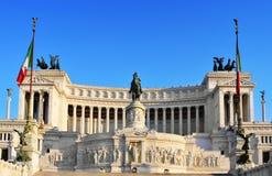 Monumento Nazionale a Vittorio Emanuele II in Rome, Italy Royalty Free Stock Photos