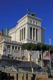 Monumento Nazionale Vittorio Emanuele II w Rzym, Włochy Obrazy Stock