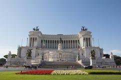 Monumento Nazionale Vittorio Emmanuele II Fotos de archivo libres de regalías