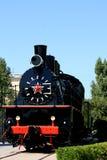 Monumento negro del tren Fotos de archivo libres de regalías