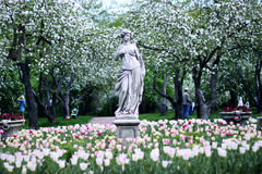 Monumento nel giardino di Apple Fotografie Stock