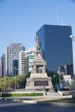 Monumento nel grande Passeo, Città del Messico di Cuitlahuac Fotografia Stock Libera da Diritti