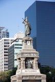 Monumento nel grande Passeo, Città del Messico di Cuitlahuac Immagini Stock Libere da Diritti