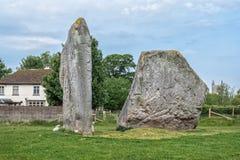 Monumento neolitico del henge di Avebury Fotografie Stock Libere da Diritti