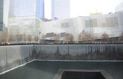 Monumento New York City del punto cero Fotografía de archivo libre de regalías