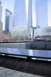Monumento New York City del punto cero Foto de archivo